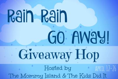 Bloggers: Rain Rain Go Away! Giveaway Hop In April