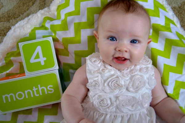 4 month chevron