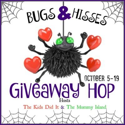 Bugs & Hisses: A Halloween Giveaway Hop #BloggerOpp