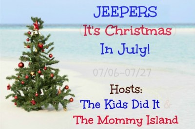 JEEPERS (It's Christmas) in July! Giveaway Hop Sign Ups #BloggerOpp