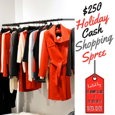 $250 Holiday Cash Shopping Spree Event