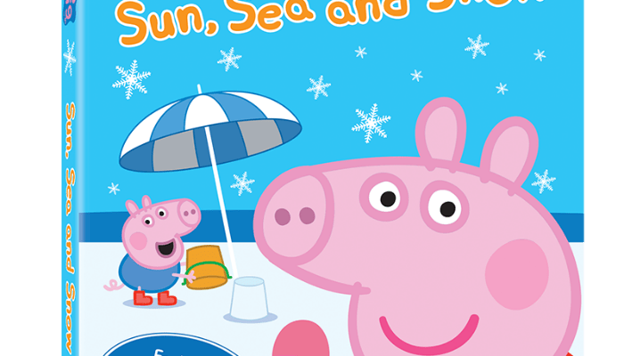 Pawsitively Thankful Featuring #PeppaPigDVD
