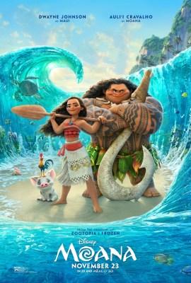 Disney's Moana Opens November 23rd #AD