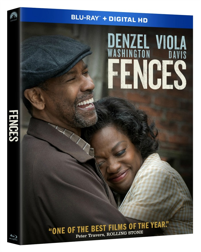 fences blu-ray/dvd