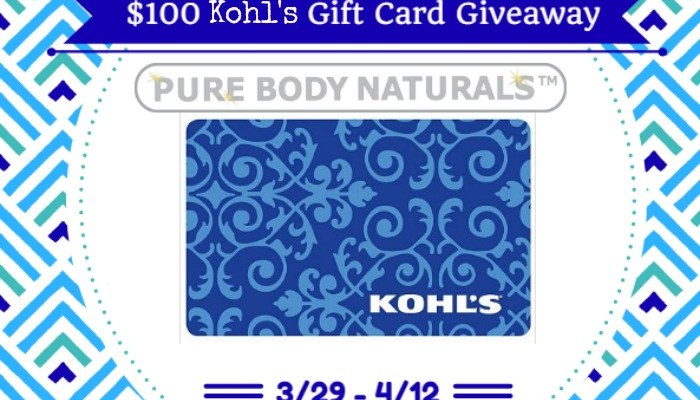 Pamper Yourself With A $100 Kohl's Gift Card