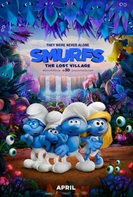SMURFS: The Lost Village Movie Swag Giveaway