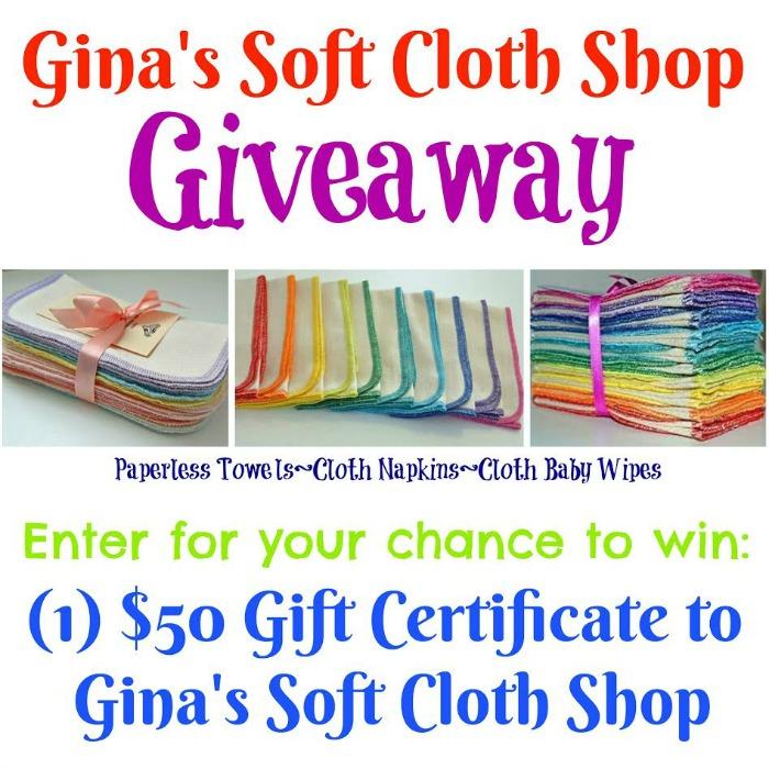 soft cloth shop giveaway