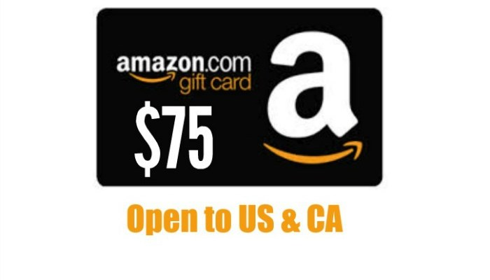 $75 Amazon Giveaway For Spring