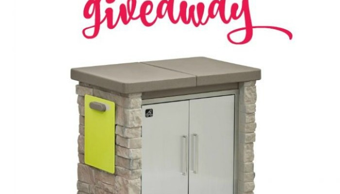 Step2 StoneFront Patio Collection Cooler & Storage Giveaway