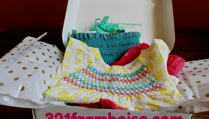 3-2-1 Framboise European Baby Clothing Subscription Box Giveaway