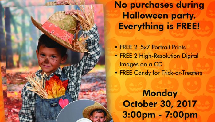 Portrait Innovations Offers FREE Prints For Halloween!