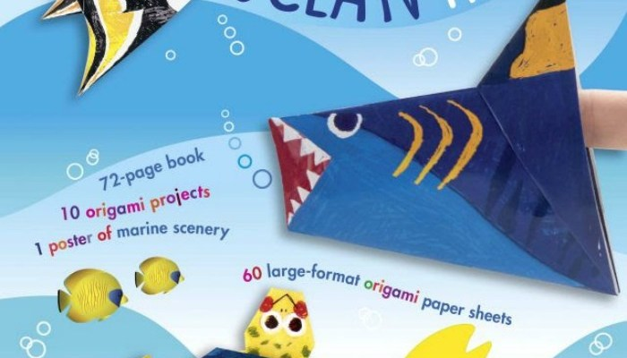 Have Fun Making Crafts With The My Origami Ocean Kit