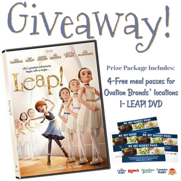 Leap! Movie Family Night Promotion At Ovations Brands