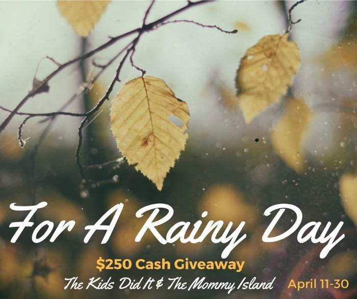 $250 April's Rainy Day Cash Event Sign-Ups