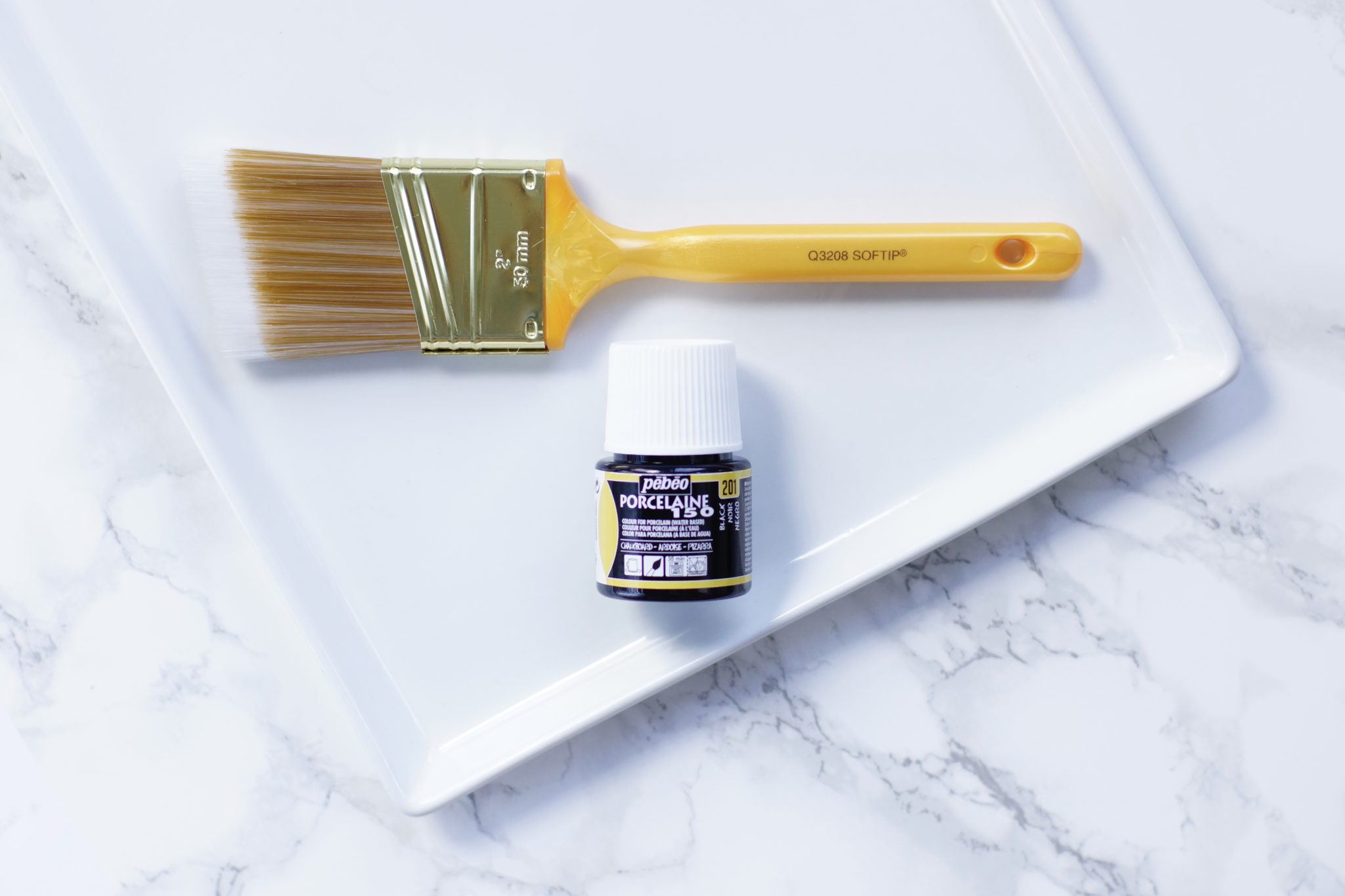 - DIY All-Purpose Chalkboard Serving Tray - Cheese Board - Cheese Tray - Do It Yourself - Pēbēo Porcelaine 150 Chalkboard Paint - Crate and Barrel - Crate & Barrel - CB2 - Cuatro Large Platter - TheKillerLook.com - The Killer Look