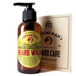 - Beard Wash - DTQ Beard Care - Medicine Man's Anti Itch Beard Care - onedtq.com - TheKillerLook.com - The Killer Look
