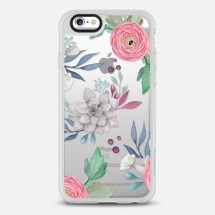 PINK FLORAL SUCCULENTS - Casetify - New Standard™ Phone Case - Casetify.com - TheKillerLook.com - The Killer Look