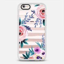 VICTORIA_FLOWER-SOFT-BLUS - Casetify - New Standard™ Phone Case - Casetify.com - TheKillerLook.com - The Killer Look