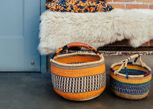 Bright baskets