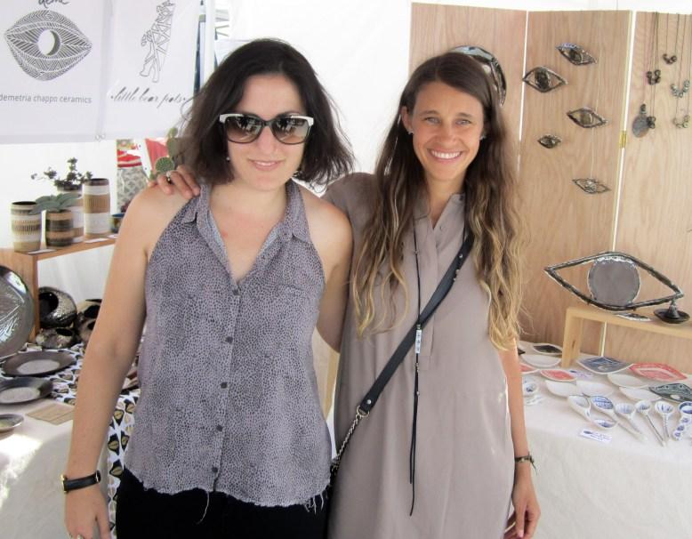 Demetria Chappo & Little Bear Pots at Renegade New York