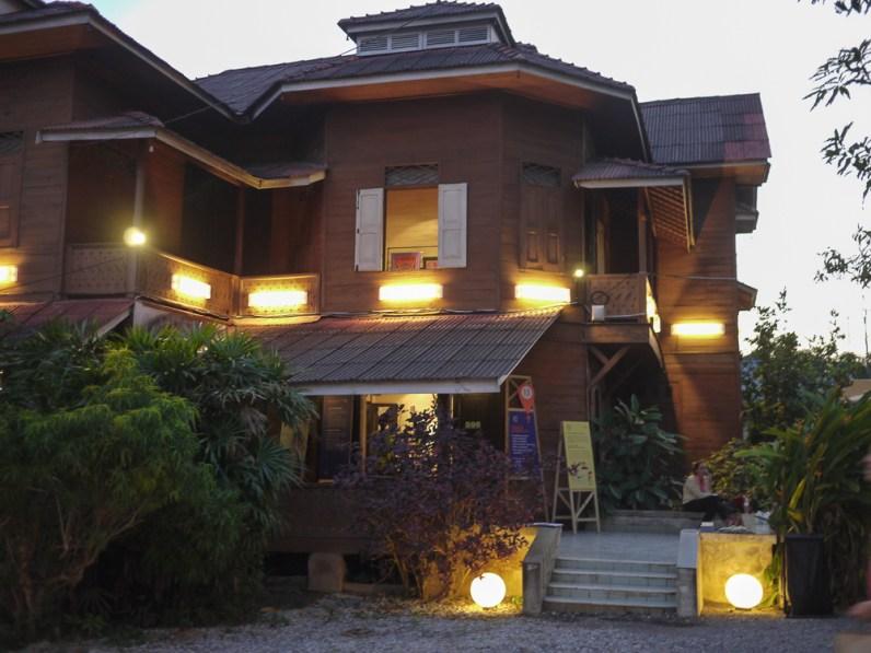 The Nimmanahaeminda's family wood house at CMDW14