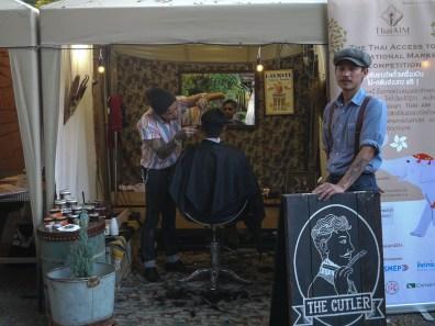 The Cutler barber at Pop Market, CMDW14
