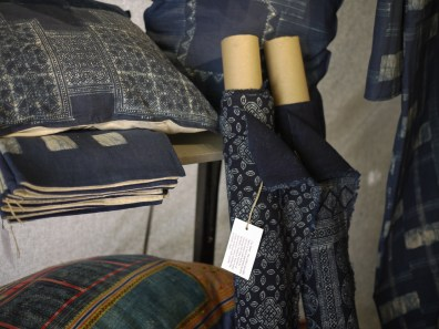 Hill Tribe Indigo Batik at NAP Fair Chiang Mai