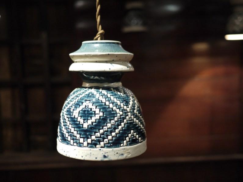 Woven Light ceramics by Chuanlhong Ceramics at CMDW14