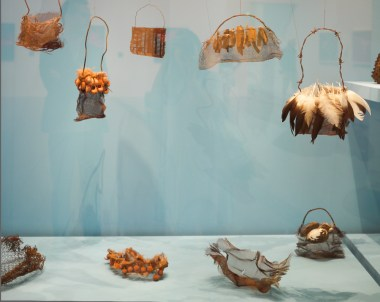 String bags by Lorraine Connelly-Northey at NGV