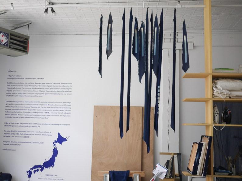 Buaisou's Brooklyn studio in Bushwick.