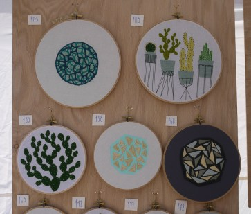Sarah K. Benning at Renegade Craft Fair, Brooklyn 2015