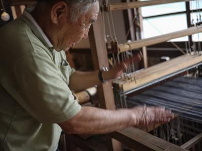 Tadashi Higeta's loom