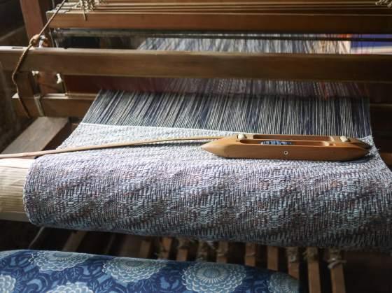 Tadashi Higeta's textiles