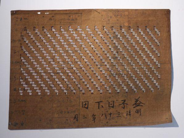 Katazome screen