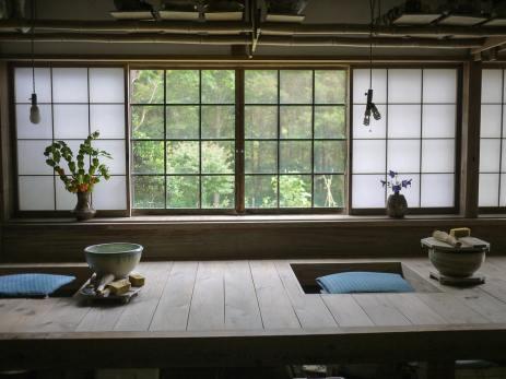 Miyajima Masayuki and Darice Veri's studio