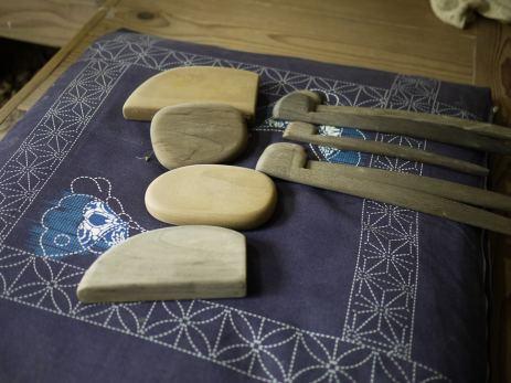 Miyajima Masayuki and Darice Veri's tools