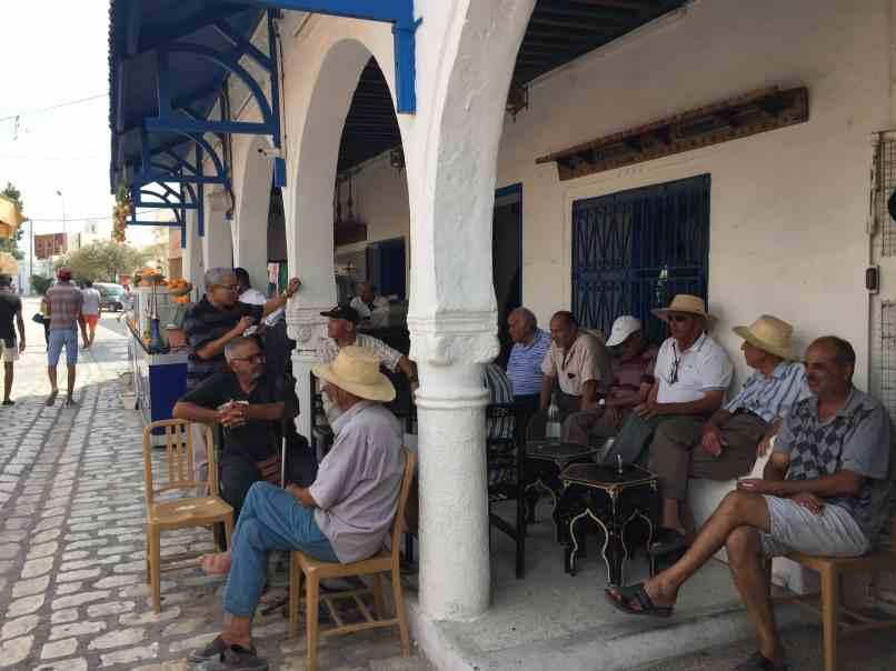 Tunisia — Djerba Street Scene