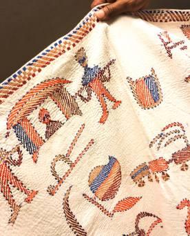 Aranya nakshi kantha – Handmade Textiles of Bangladesh