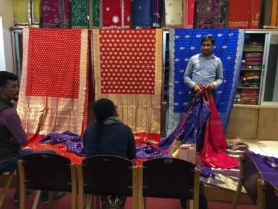 Benaroshi saree fabrics – Handmade Textiles of Bangladesh