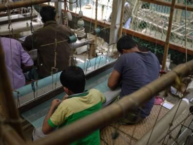 Weaving in Demra-Narayanganj– Handmade Textiles of Bangladesh