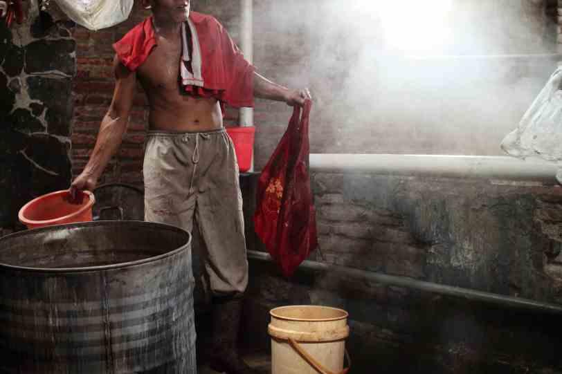 Indonesian Batik — Boiling