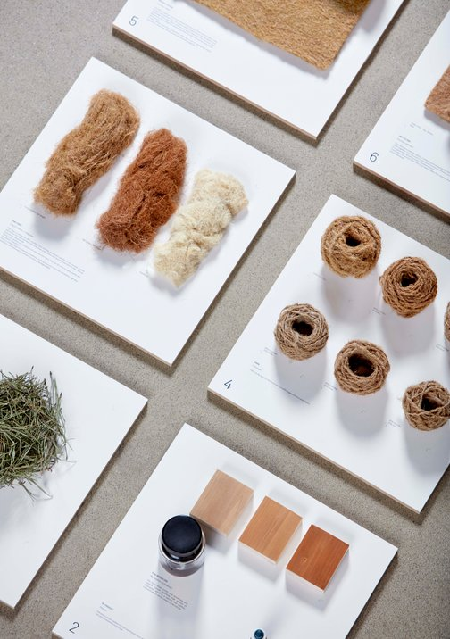 "Fiber — ""Forest Wool"" — Tamara Orjola — Dutch Design Week 2017"
