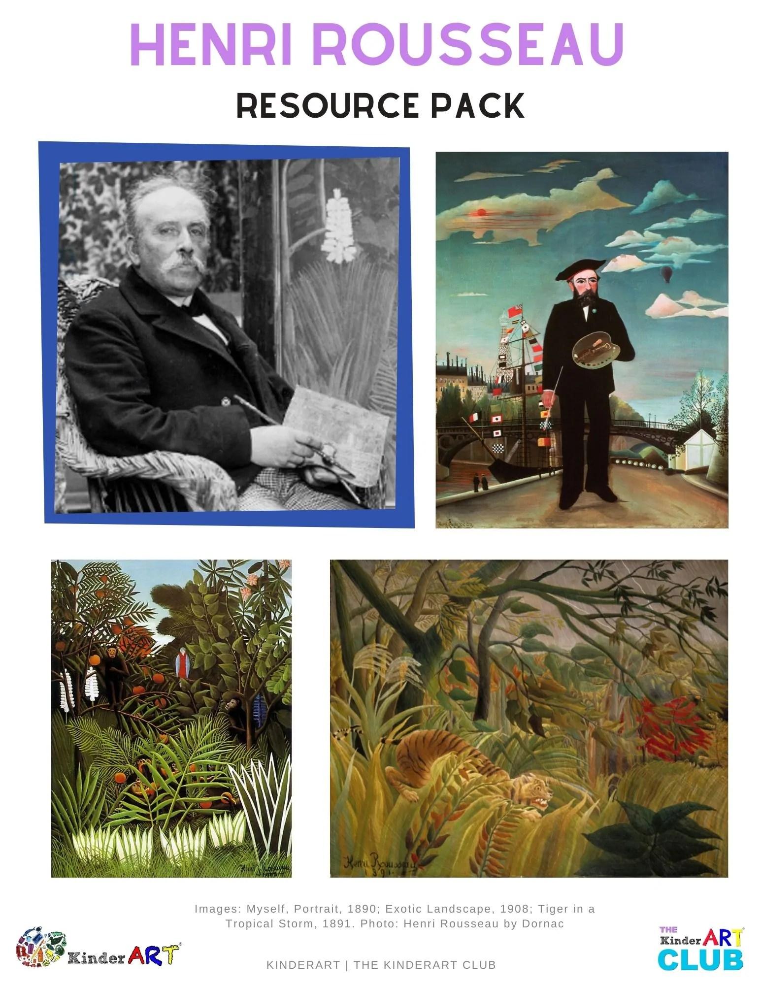 Bio Henri Rousseau