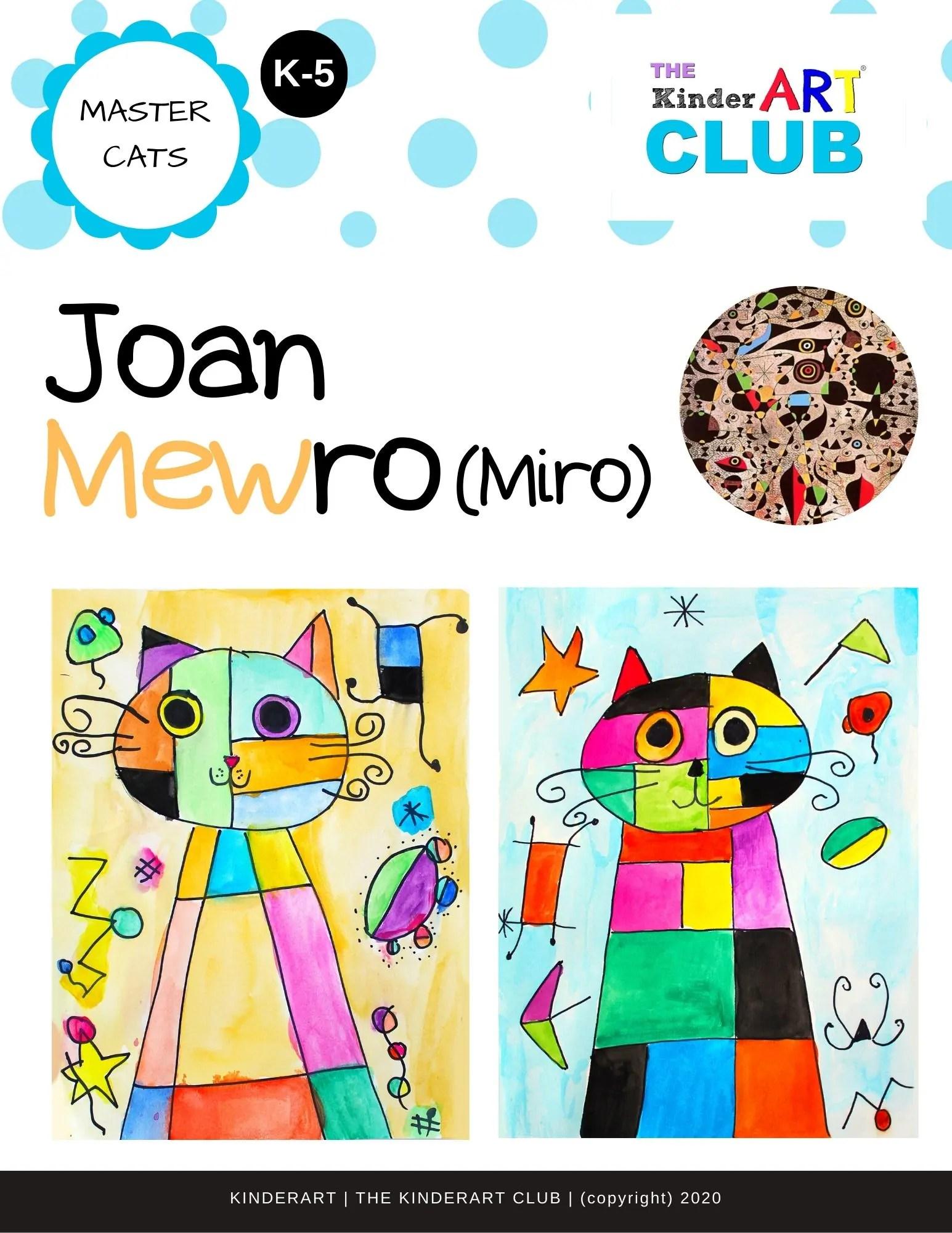 Lesson Joan Mewro Miro