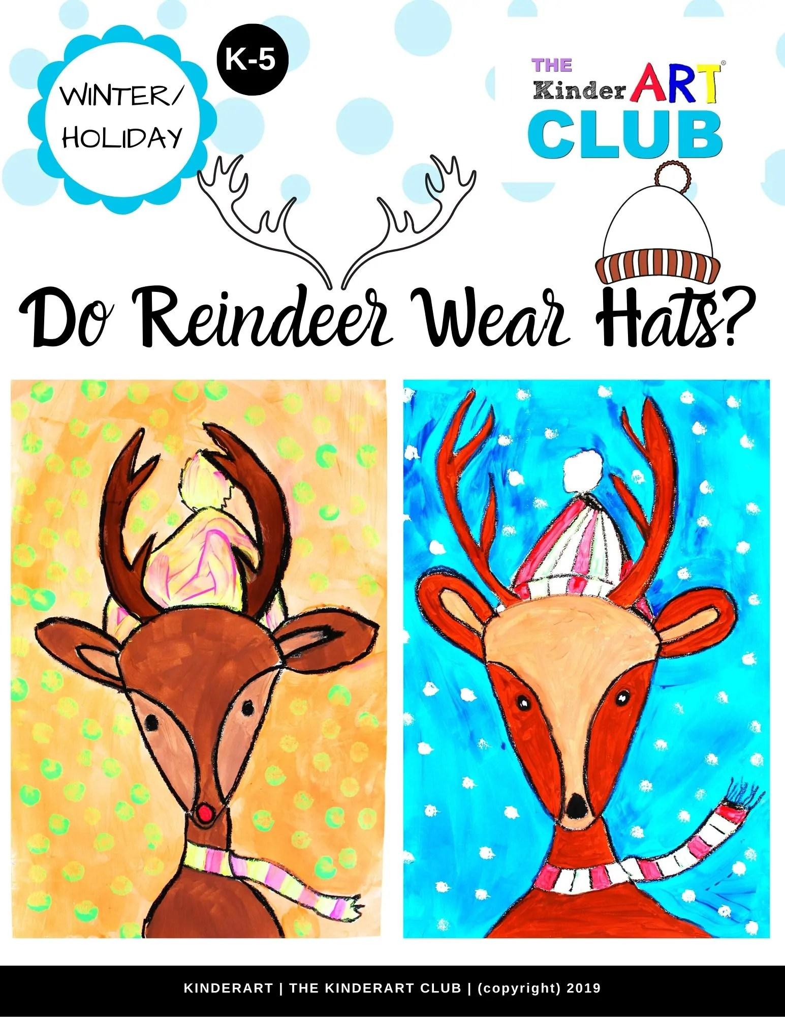 Lesson Do Reindeer Wear Hats