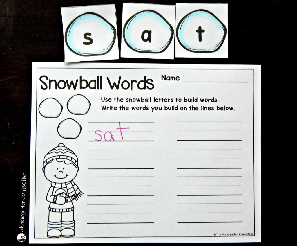 Winter Alphabet And Number Cards