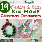 Festive And Simple Kids Christmas Ornaments The Kindergarten Connection