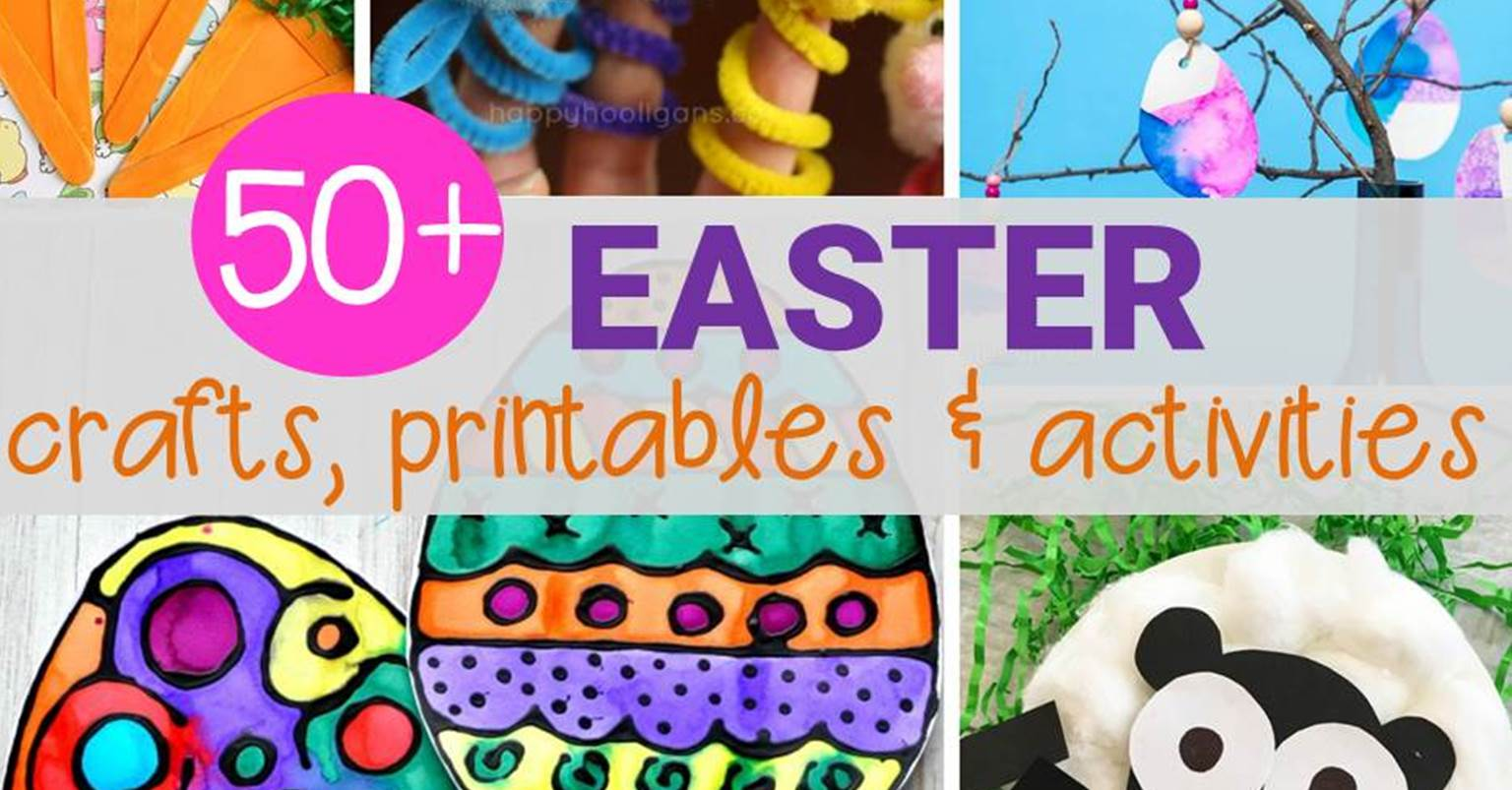50 Easter Activities That Kids Will Love