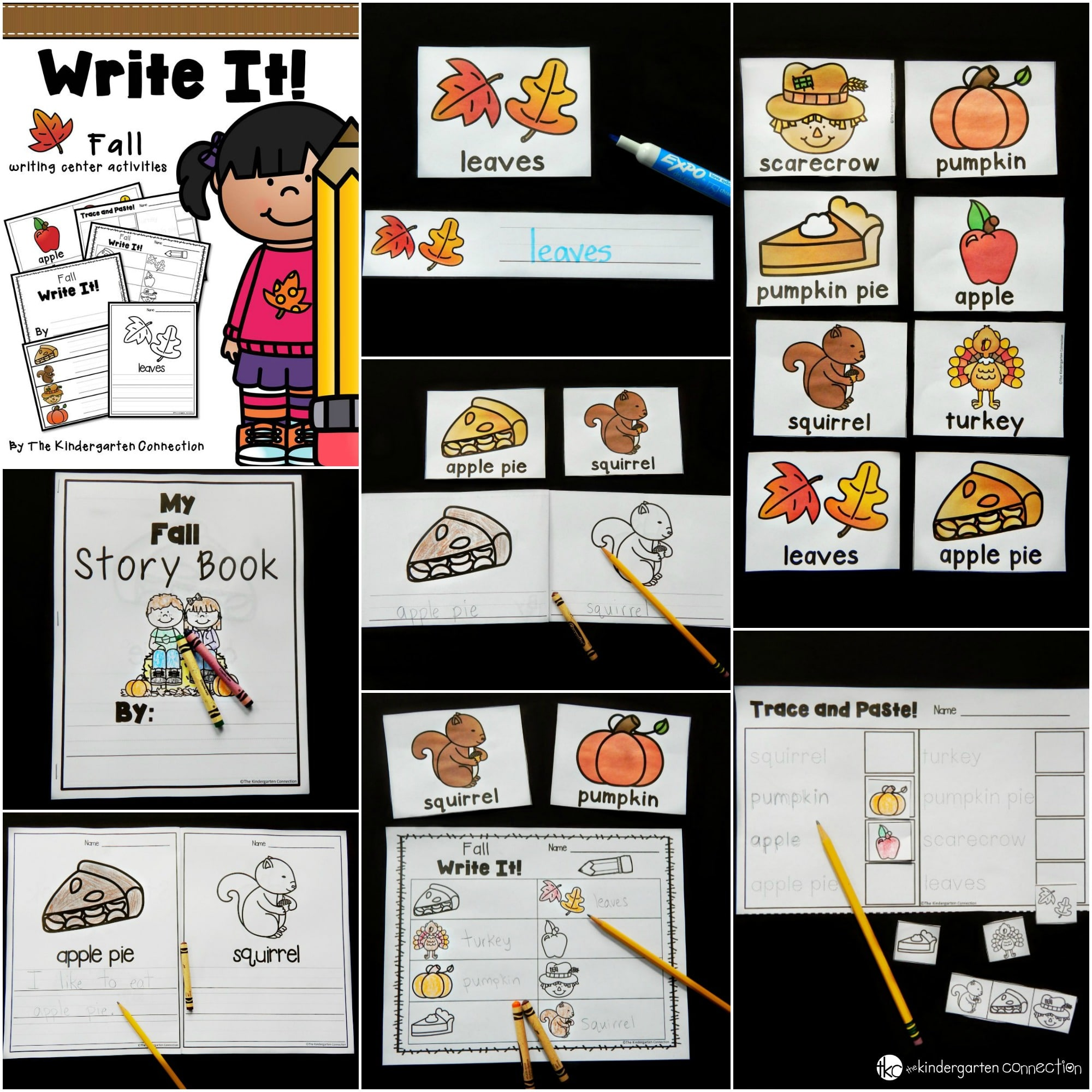Fall Writing Centers And Activities