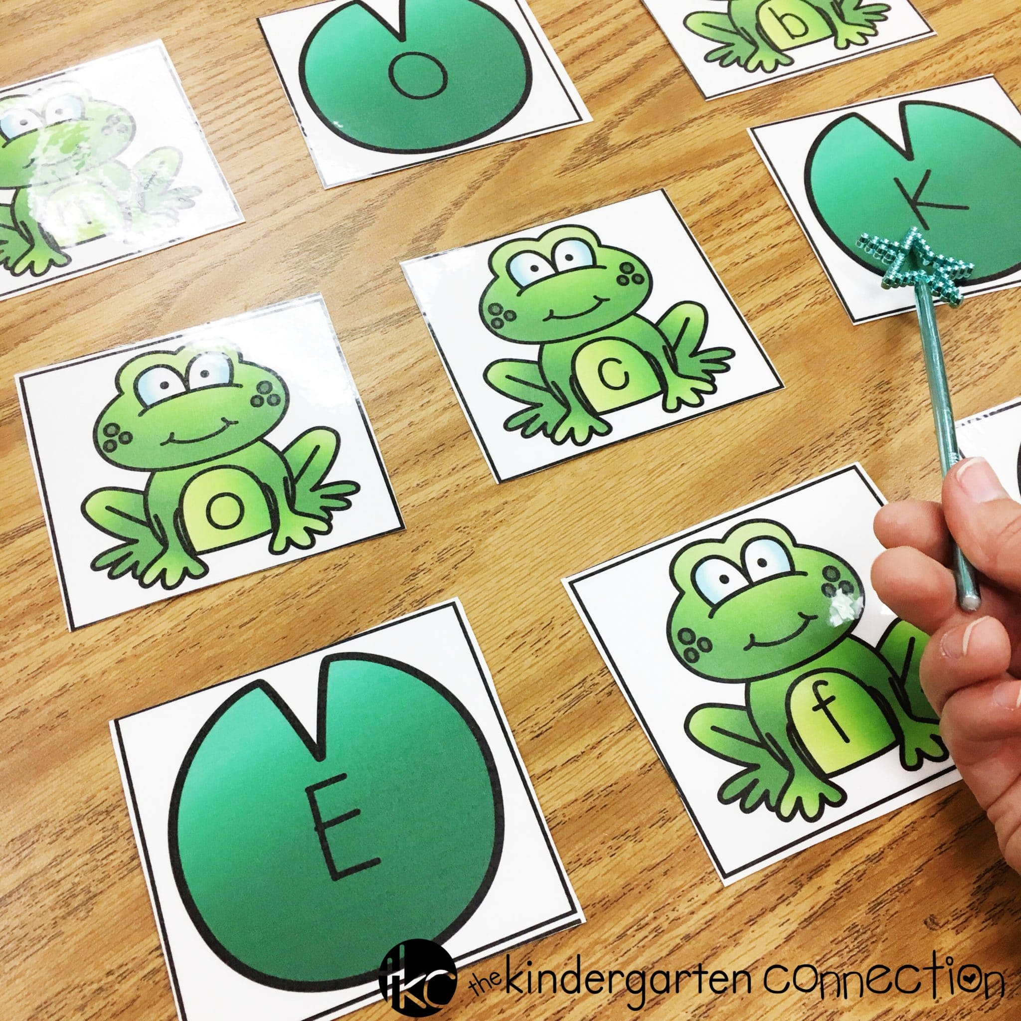 Frog Uppercase And Lowercase Letter Activities